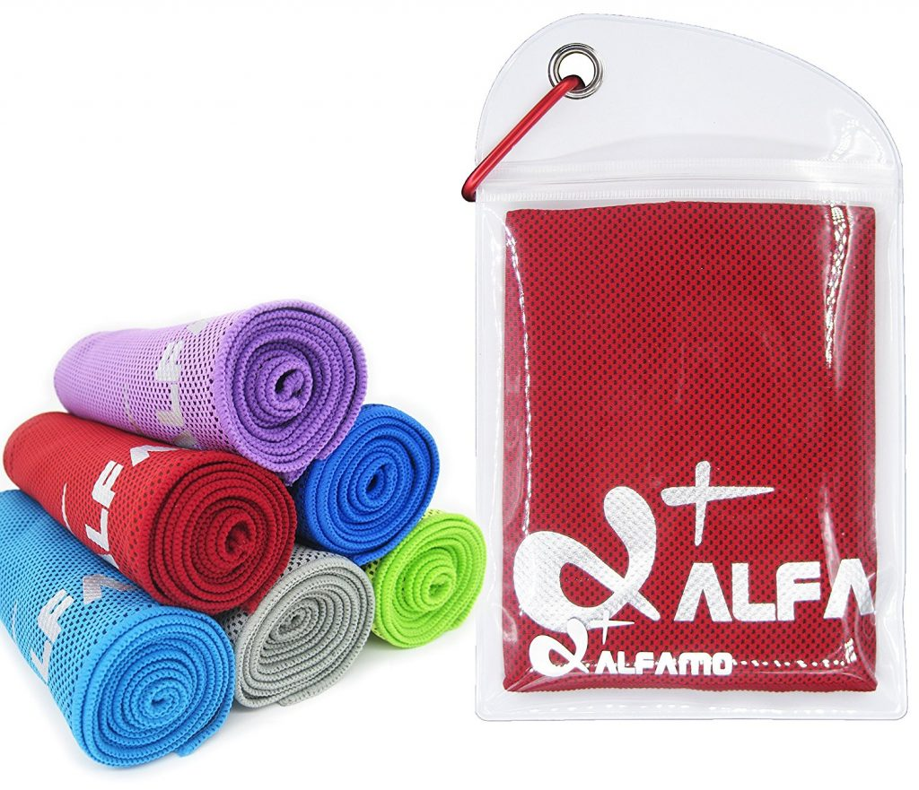 wet and snap cooling towel
