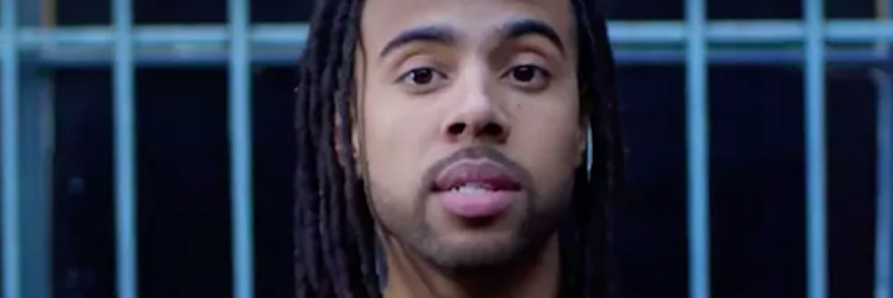 headshot of rapper Vic Mensa