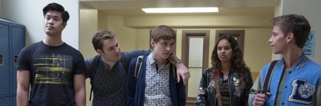 """Zach, Bryce, Alex, Jessica and Scott from """"13 Reasons Why"""""""