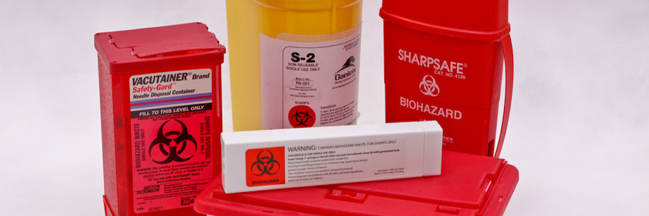 medical waste disposal containers
