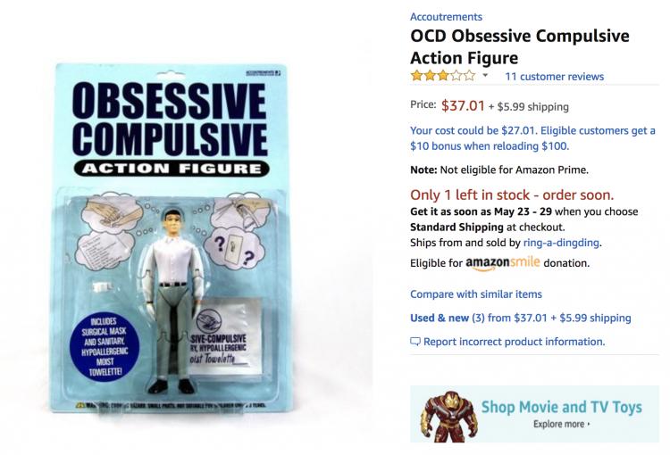 OCD action figure
