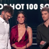 The Chainsmokers and Halsey on stage at the Billboard Music Awards
