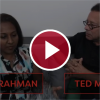 red play button over screenshot of dr. simi rahman and ted meyer