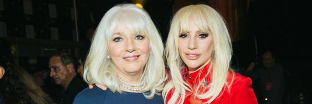 Cynthia Germanotta with her daughter Lady Gaga