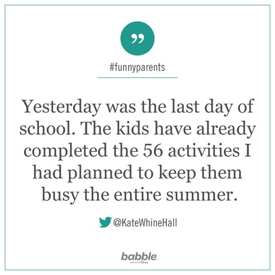 yesterday was the last day of school. The kids have already completed 56 activities I had planned to keep them busy the entire summer.