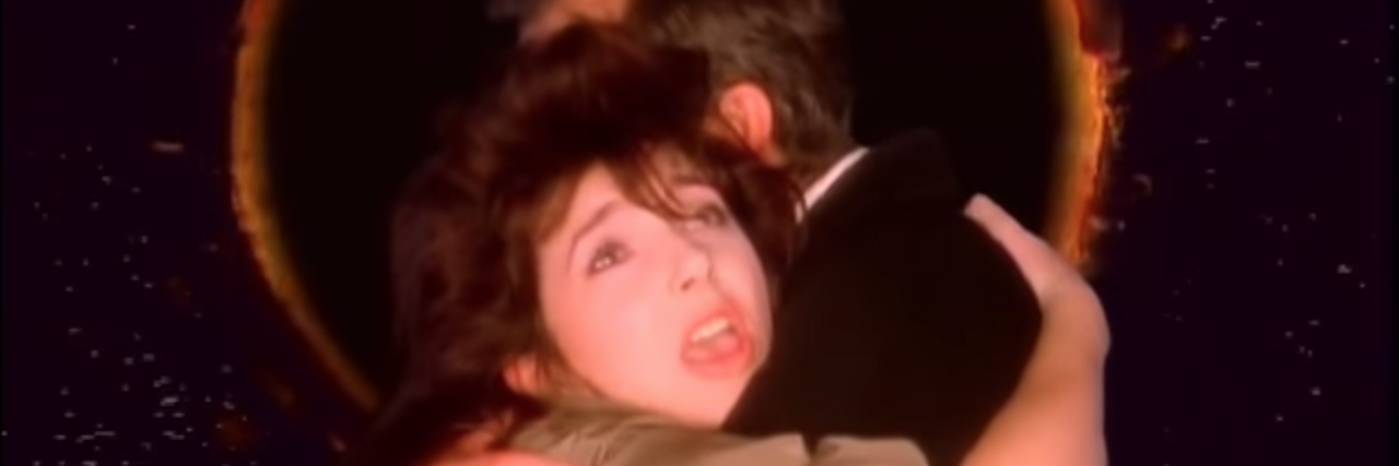 peter gabriel and kate bush in don't give up
