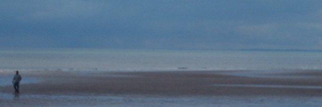 photo of a cloudy beach