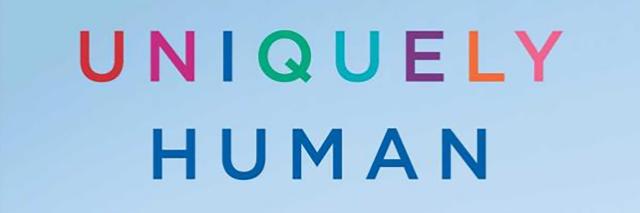 Uniquely Human book cover.