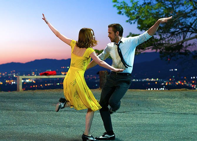 ryan gosling and emma stone dancing in lala land
