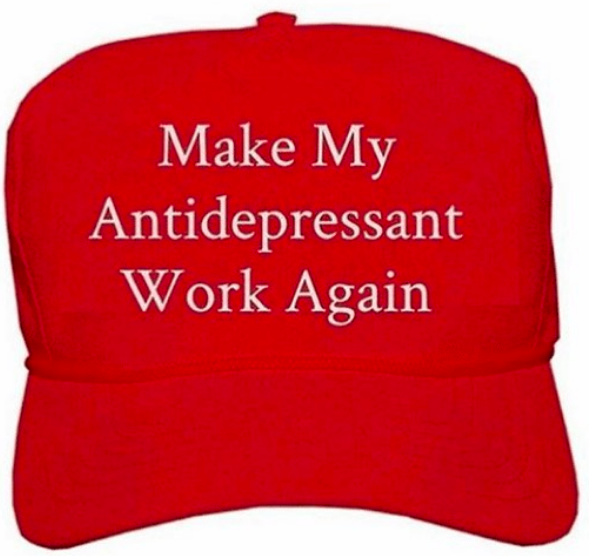 make my antidepressants work again meme