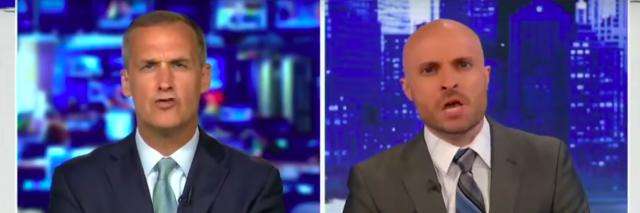 Image of Corey Lewandowski and Democratic strategist Zac Petkanas on FOX News