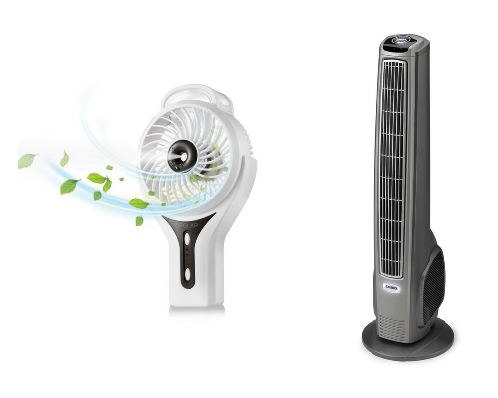 handheld misting fan, remote controlled tower oscillating fan
