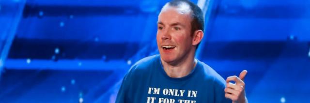 Lee Ridley on Britain's Got Talent