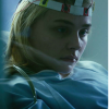 "Chloe Grace Moretz in ""Brain on Fire"" and its author Susannah Cahalan"