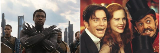 black panther in infinity war and cast of moulin rouge
