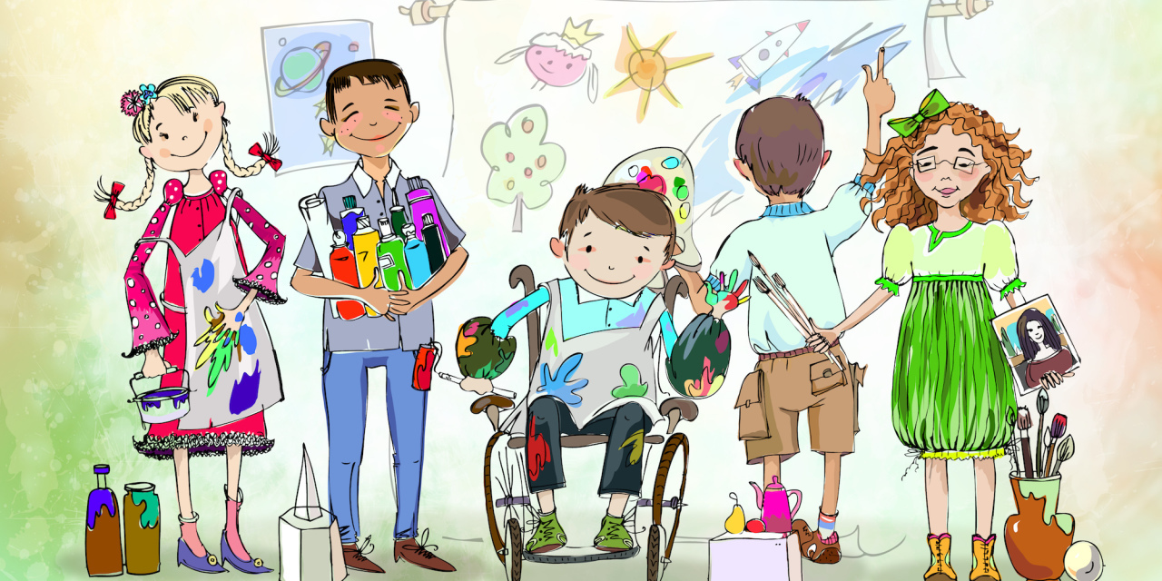 A touching cartoon about a father who had a daughter with cerebral palsy (video)