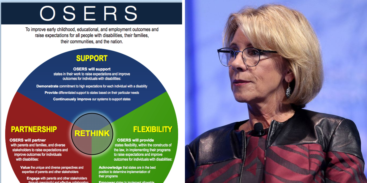 Osers Issues New Guidance Concerning >> The Trump Administration Rethinking Special Education Is