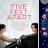 Five Feet Apart movie poster and book cover