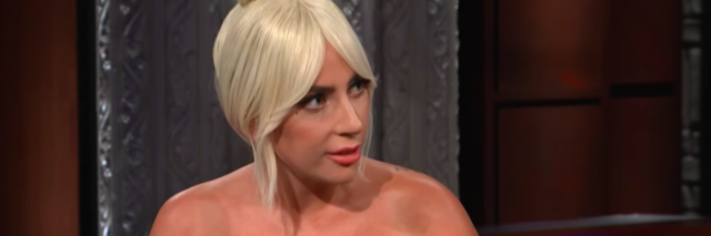 Lady Gaga on Late Night Show With Stephen Colbert