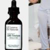 massage, CBD tincture, comfy pajama pants