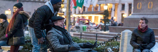 """Bryan Cranston and Kevin Hart in """"The Upside."""""""