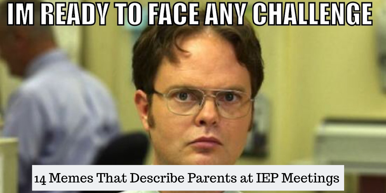 Memes That Describe Parents at IEP Meetings | The Mighty