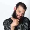Comedian Tim Renkow, who has cerebral palsy