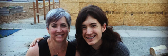 Lisa with her daughter MacKenzie.