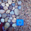 Find Your Anchor suicide prevention box on a bed of rocks and pebbles
