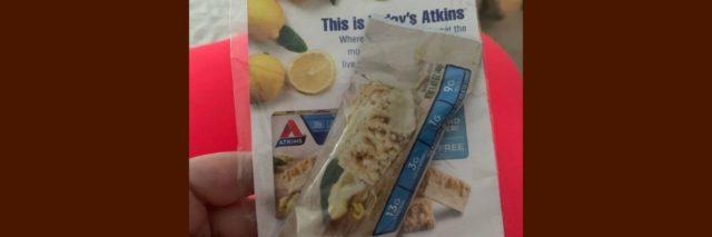 Forever 21 Atkins sample bar