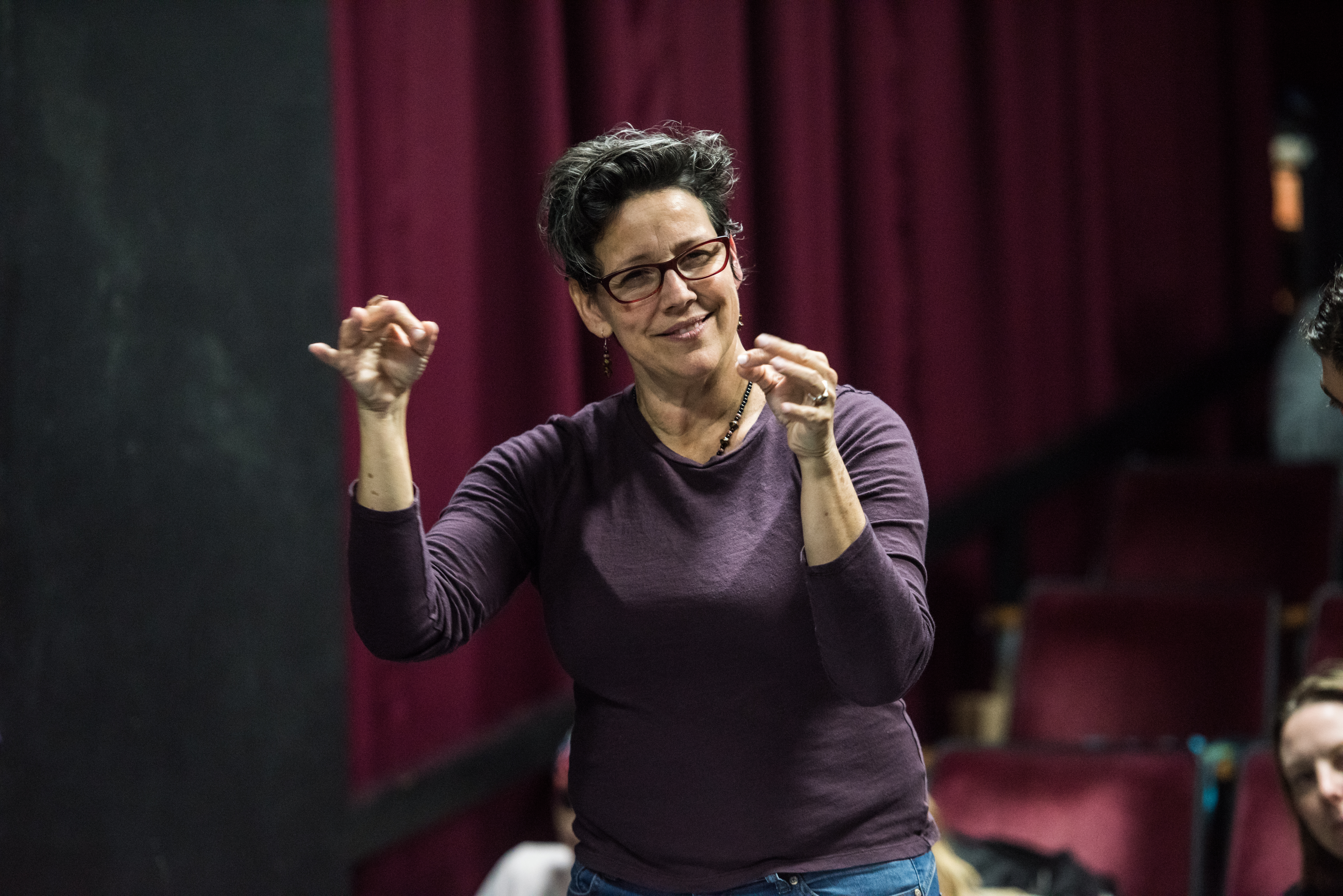 Terrylene Sacchetti, Director of Artistic Sign Language