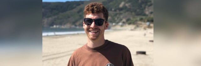 doug on beach