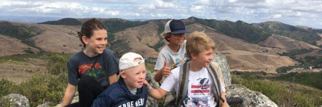 Liam on his fifth grade overnight field trip.