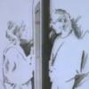 "Screenshot from A-ha's ""Take On Me"" video."