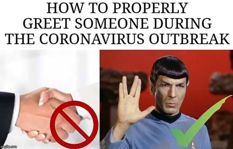 How to Properly Greet Someone During the Coronavirus Pademic