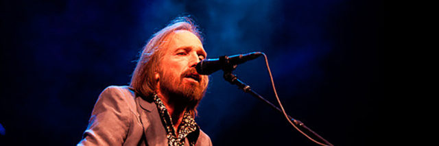 Tom Petty performing onstage
