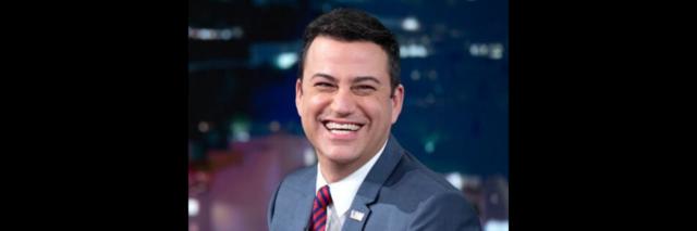 Jimmy Kimmel on his talk show