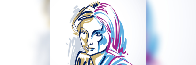 Colorful illustration of a woman