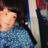 The author as a young girl