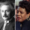 From left to right: Temple Grandin, Albert Einstein and Maya Angelou