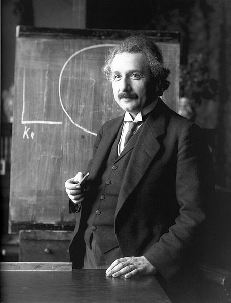 Photo of Albert Einsein