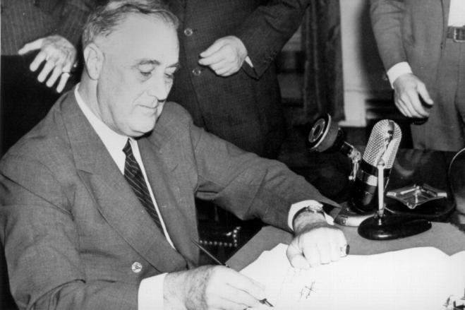 Image of President Roosevelt