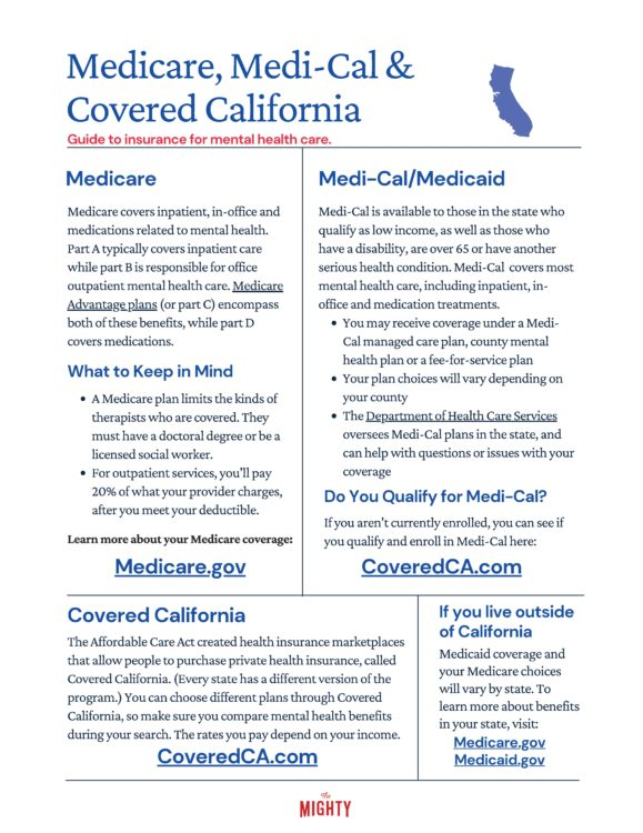 Medicare, Medi-Cal & Covered California (click to download flyer)