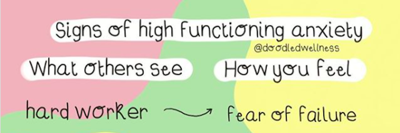Graphic Captures What 'High-Functioning' Anxiety Is Like