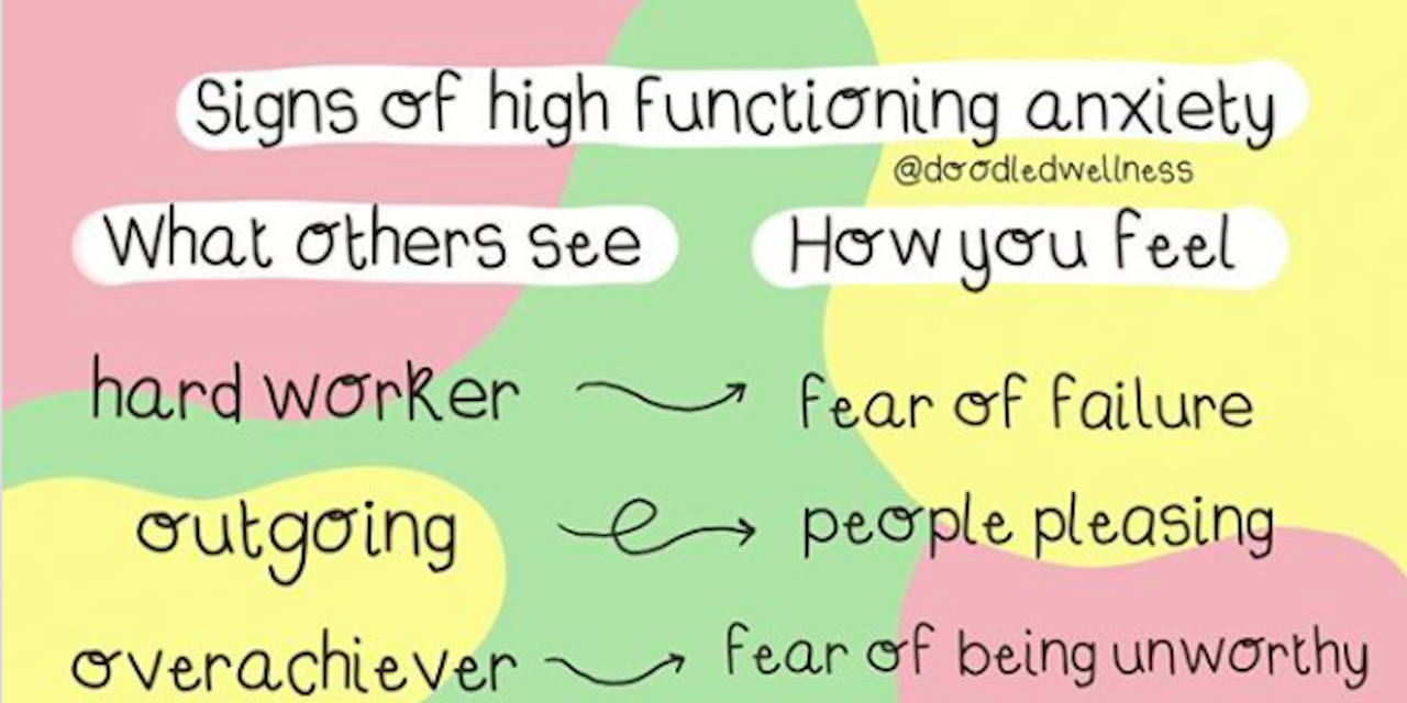 Graphic Captures What 'High-Functioning' Anxiety Is Like ...