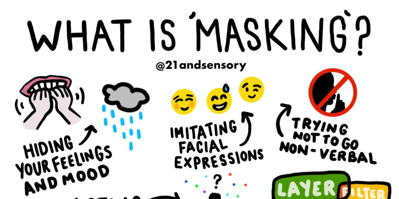 Autistic Artist Creates Graphic to Explain Masking | The ...