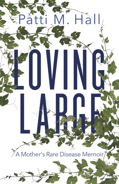 """Image of """"Loving Large"""" book cover"""