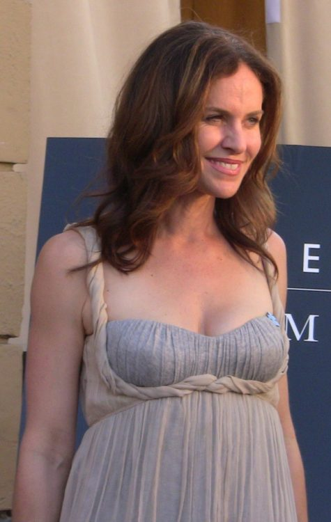 Amy Brenneman on the red carpet