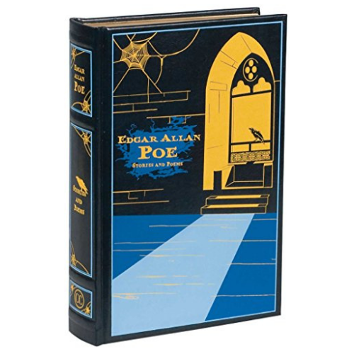 photo of collected works of Edgar Allan Poe book