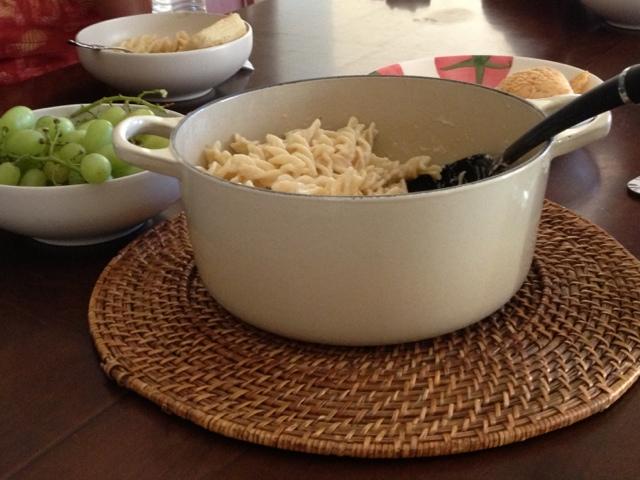 Gluten-free pasta.
